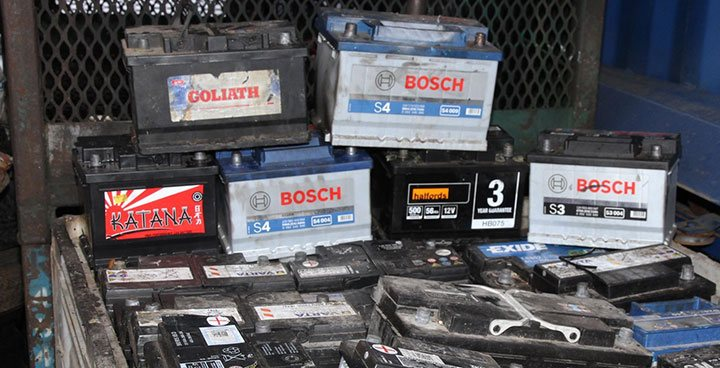Colectare baterii uzate